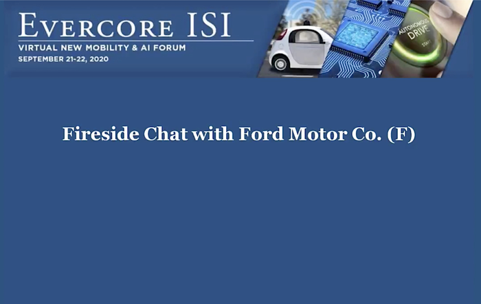 Audio: Ford CTO Ken Washington Discusses Ford Technology, AI, Autonomous Driving and Mach-E Mustang