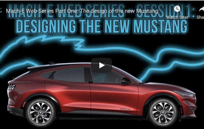 Mach-E Web Series - Part 1: Designing the new Mustang