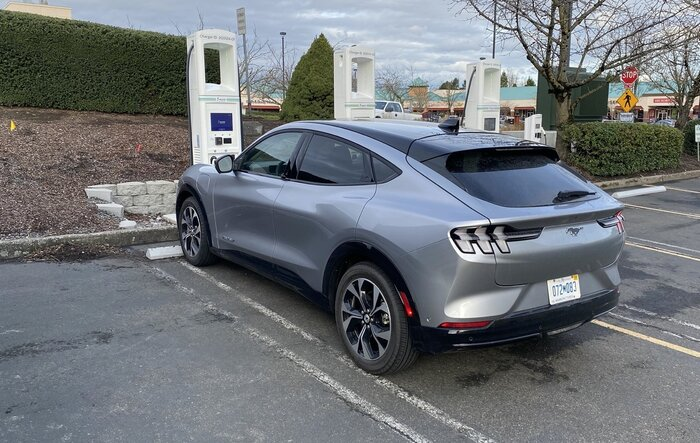 2021 Mustang Mach-E: How fast does the Ford EV charge up on road trips?