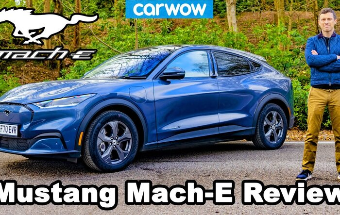 Great Carwow Review: Mustang Mach-E 2021 - an EV that you actually want!