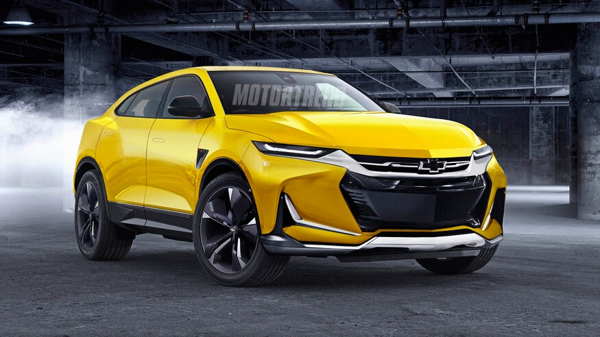 Rendering: Electric Camaro SUV as competitor to the ...